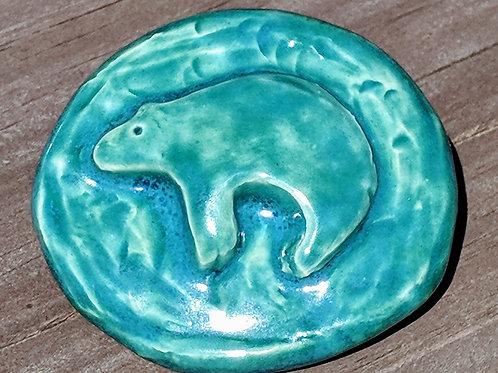 BEAR Pocket Stone - Turquoise