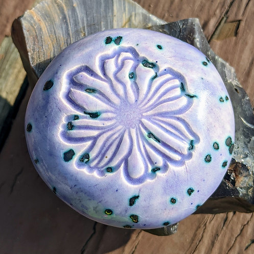 FLOWER Pocket Stone - Purple Haze
