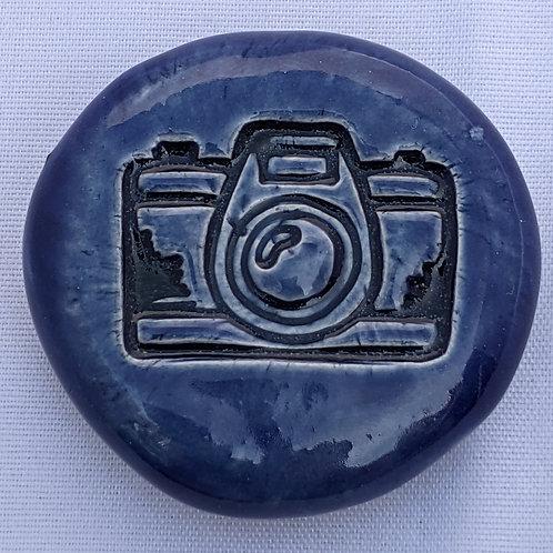 CAMERA Pocket Stone - Sapphire Blue