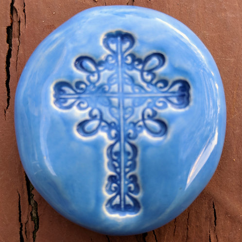 CROSS Pocket Stone - Bluebonnet
