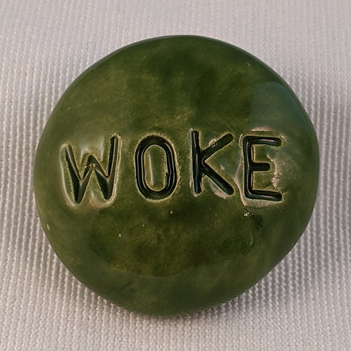 WOKE Pocket Stone - Emerald Green