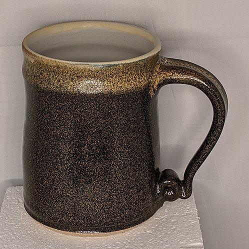 STONEWARE MUG by TC Pottery Studio - Black Gold Tea Dust