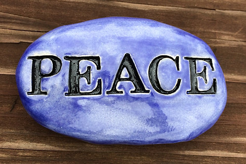 PEACE Garden Stone - Exotic Blue