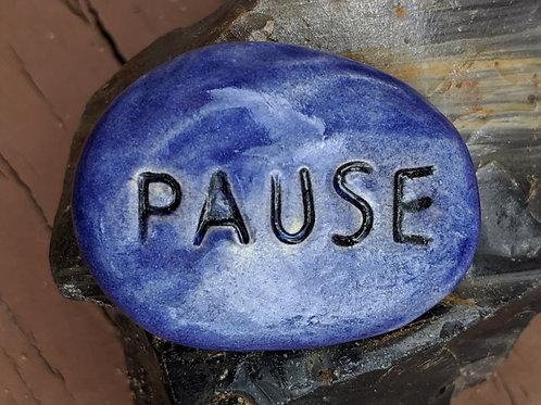 PAUSE Pocket Stone - Exotic Blue