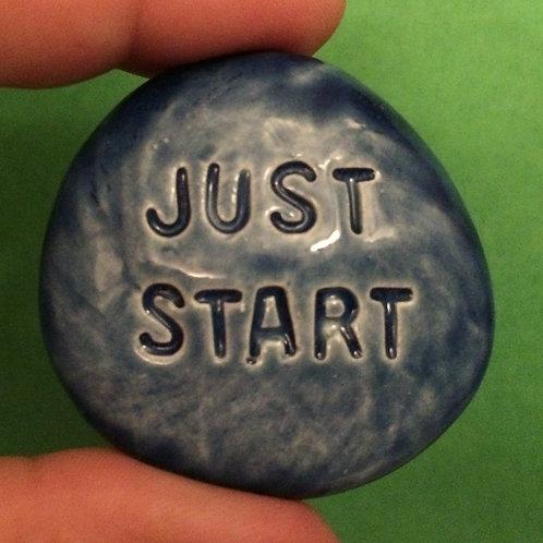 JUST START Pocket Stone - Sapphire Blue