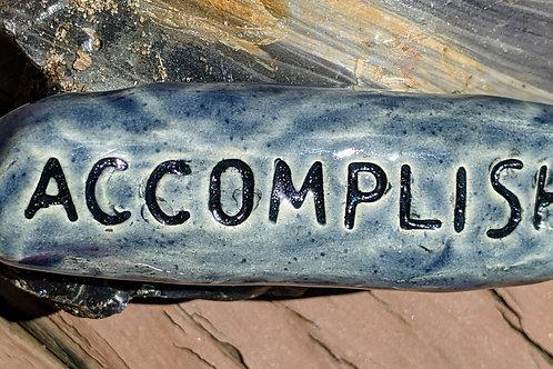 ACCOMPLISH Pocket Stone - Denim Blue