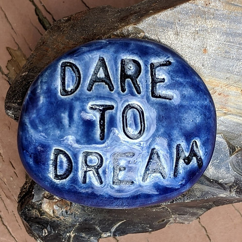 DARE TO DREAM Pocket Stone - Midnight Blue