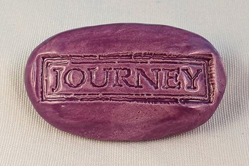 JOURNEY Pocket Stone - Amethyst Purple