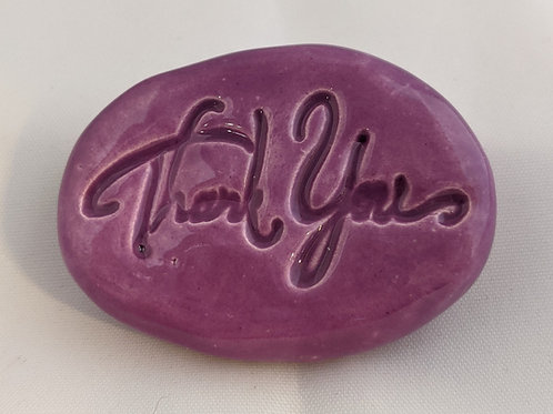 THANK YOU Pocket Stone - Tanzanite