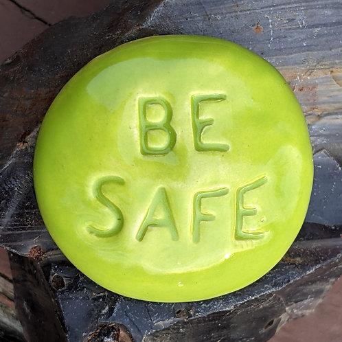 BE SAFE Pocket Stone - Granny Smith Green