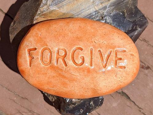 FORGIVE Pocket Stone - Tuscan Sun