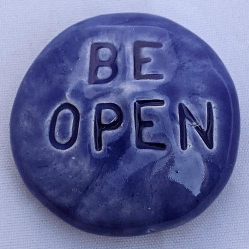 BE OPEN Pocket Stone - Vivid Blue