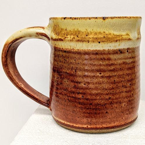 TC POTTERY Stoneware Mug - Shino