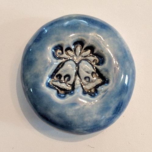 WEDDING BELLS Pocket Stone - Sapphire Blue