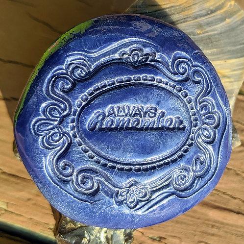 ALWAYS REMEMBER Magnet - Royal Blue
