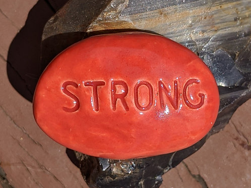 STRONG Pocket Stone - Fire Engine Red