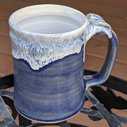 STONEWARE MUG by TC Pottery Studio - Transparent Blue