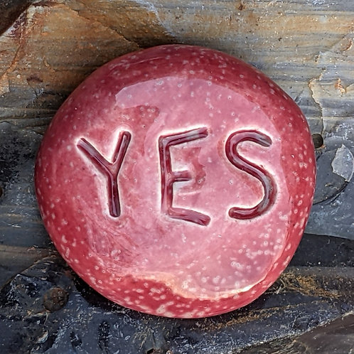 YES Pocket Stone - Sirocco Red