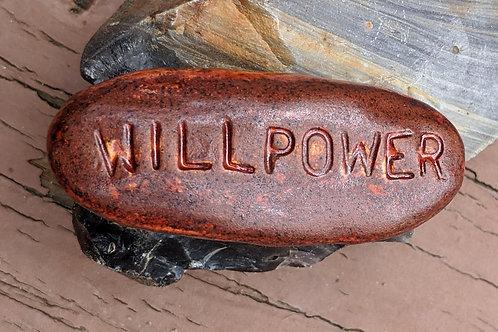 WILLPOWER Pocket Stone - Iron Ore