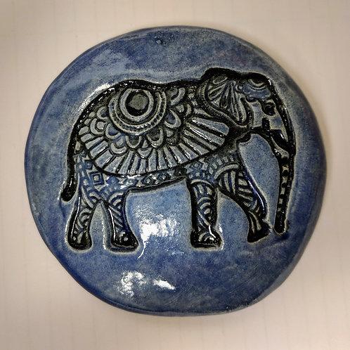 ELEPHANT Pocket Stone - Exotic Blue