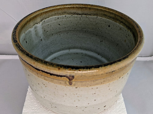 BREAD BAKER Stoneware Dish / Crock by TC Pottery Studio - Art Glazes