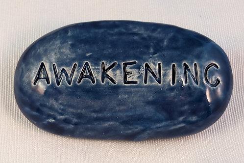 AWAKENING Pocket Stone - Midnight Blue