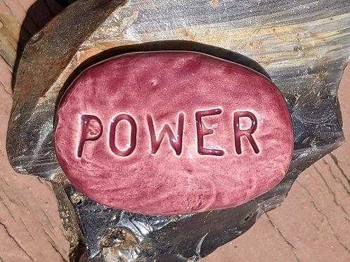 POWER Pocket Stone - Purple