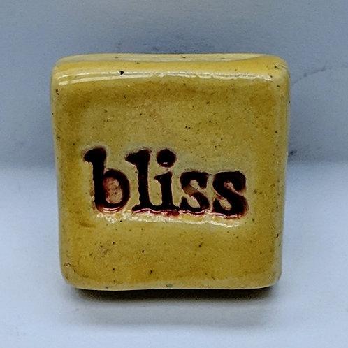 BLISS Magnet - Sun Yellow