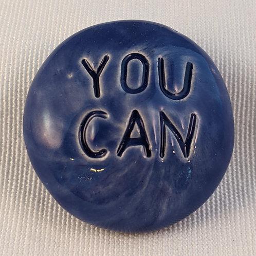 YOU CAN Pocket Stone - Vivid Blue