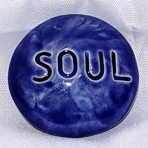 SOUL Pocket Stone - Vivid Blue