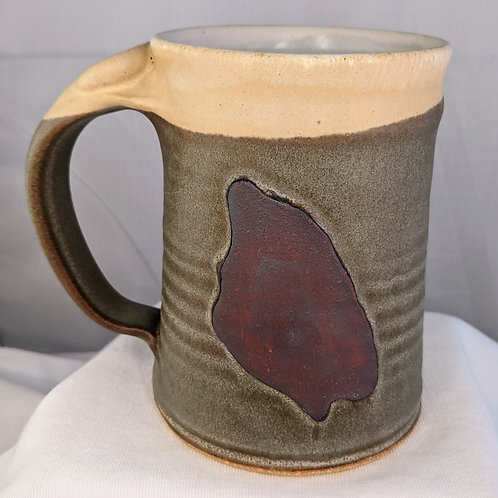 MACKINAC ISLAND Mug by TC Pottery Studio - BG Green