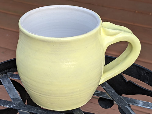 STONEWARE MUG by TC Pottery Studio - Yellow