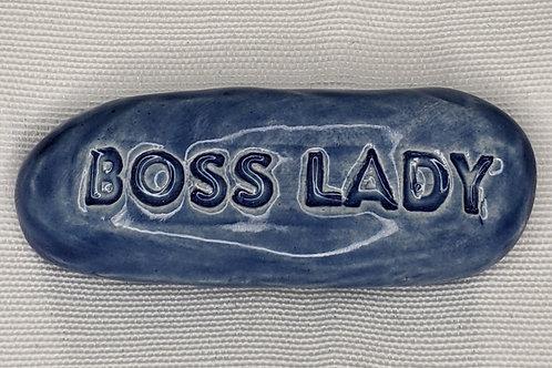 BOSS LADY Pocket Stone - Sapphire Blue