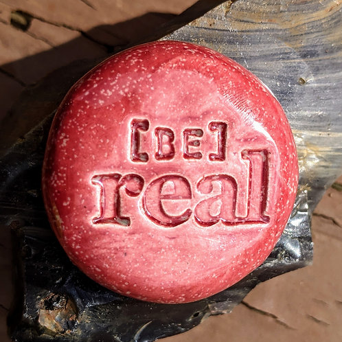 BE REAL Pocket Stone - Sirocco Red