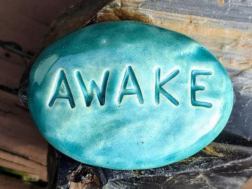 AWAKE Pocket Stone - Aquamarine