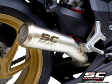 SC-Project Conic 70's Muffler, Stainless Steel