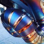 Titanium Sectional S Bend welds