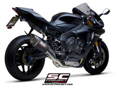 SC1-R Carbon on the Yamaha R1M