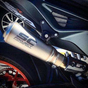 SC-Project Titanium S1-GP Muffler