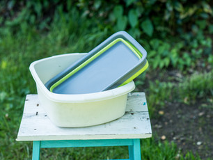 Adventuridge folding wash basin review