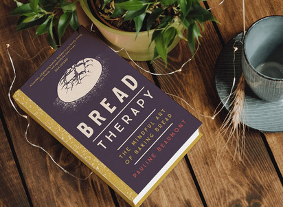Book Design for Yellow Kite Books: Bread Therapy