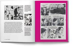 exhibition book design comics unmasked