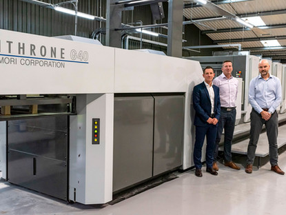 Blackmore Enhances Green Credentials by Investing Over £1.5M in a State-of-the-Art Print Press