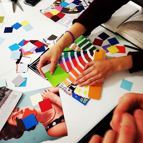 Colour workshops in full swing! BA Graph