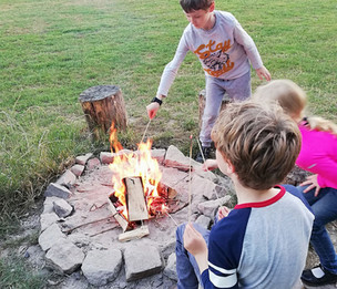 Camping on a school night