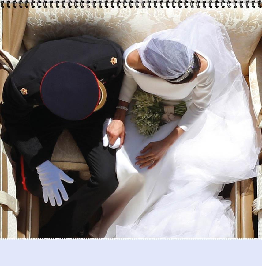 Harry & Megan Wedding Calendar