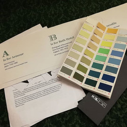 Colour scheme and display ideas