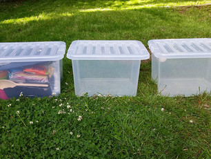 How to organise your tent: the 3 Box System