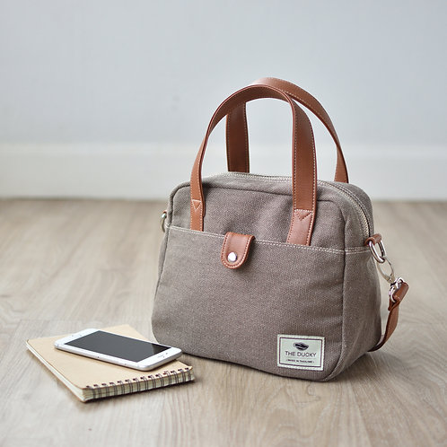 MINI BAG - SMOKE BROWN