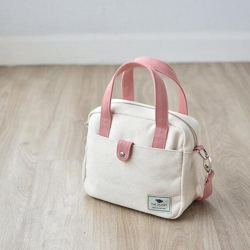 MINI BAG - OFF WHITE+PINK